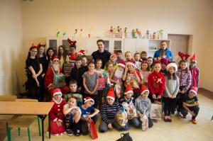 Mikołaj odwiedził naszą szkołę